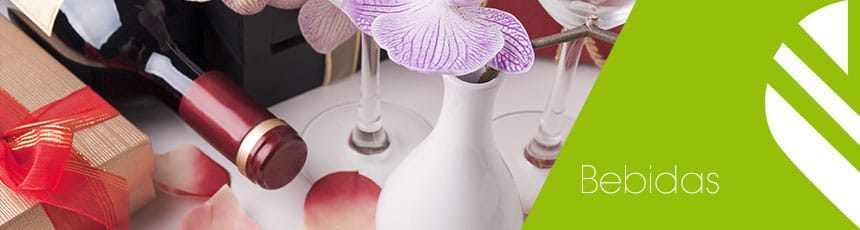 Bebidas: flores e champanhe com entrega ao domicílio