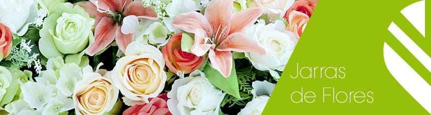 Jarras de Flores