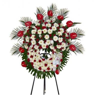 Coroa de Flores Oval