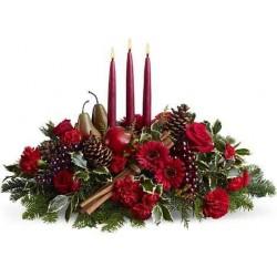 Como escolher as flores de Natal para a decoração