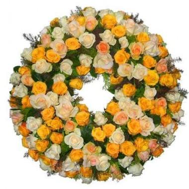 Coroa de Flores Salmão