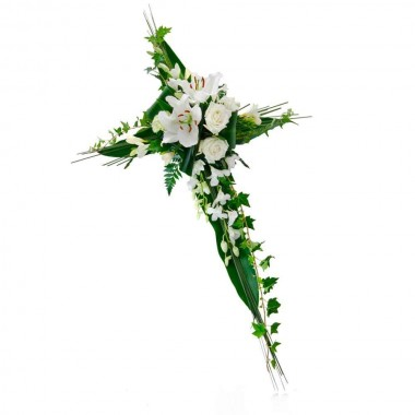 Cruz Fúnebre Branca