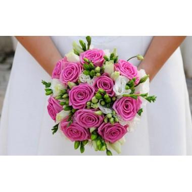 """Bouquet de Noiva """"Frésia"""""""