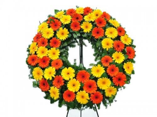 """Coroa de Flores """"Gerbera"""""""