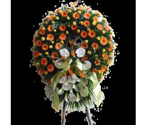 """Coroa de Flores """"Condolências"""""""