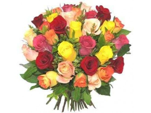 Bouquet de Rosas Multicor